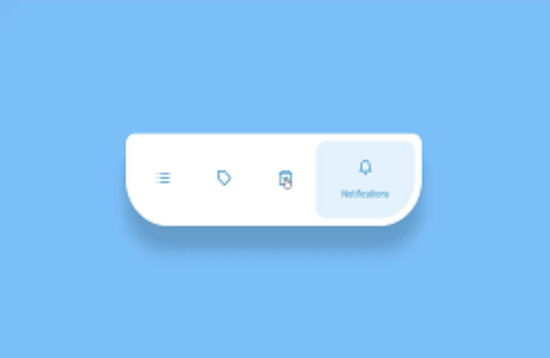 BEST ANIMATED NAVIGATION BAR OR TAB BAR USING JQUERY WITH CSS