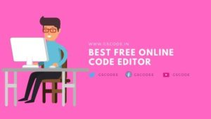 Read more about the article Top 11 Best free Online Code Editor for Web Developers in 2020