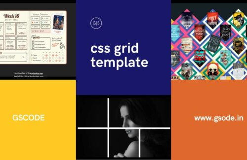 50+ CSS grid template