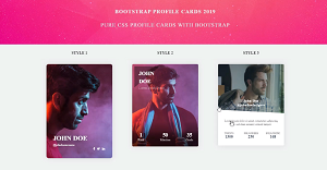 20+ Free Bootstrap Cards Example 2020