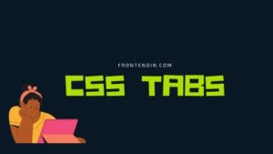 20+ CSS tabs Example
