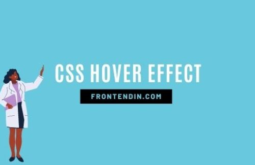 30+ CSS HOVER EFFECTS