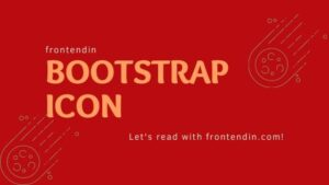 10 Bootstrap icons