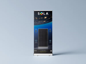 Rollup Design for solar Exhibition (Download Mockup)