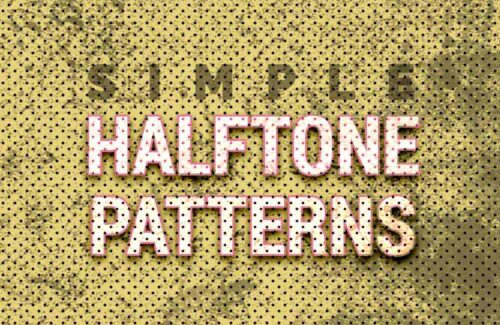 16 Free Halftone Seamless Patterns