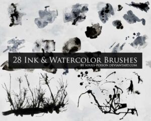 Read more about the article 28 Ink and Watercolor Brushes