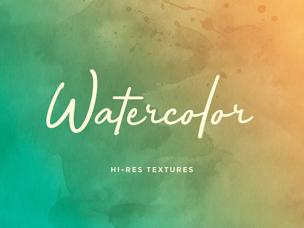 WATERCOLOR BACKGROUNDS SET