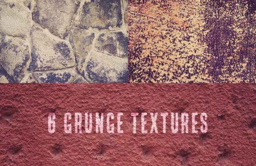 6 Grunge Wall Textures