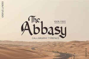 Read more about the article Abbasy Calligraphy – Free Font