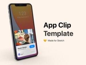 Read more about the article Appclip Clip Template