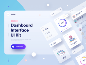 Read more about the article Free dashboard UI kit