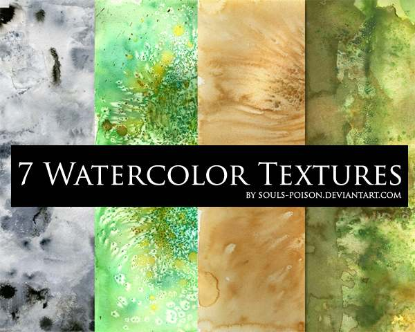 7 Watercolor Textures