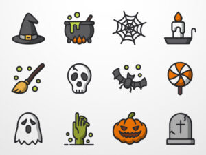 Read more about the article 12 pixel perfect Halloween icons