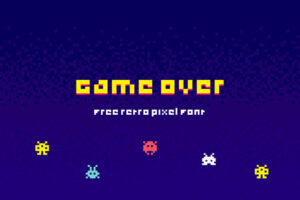 Read more about the article Game Over | Free font