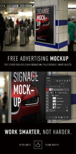 Read more about the article FREE Smart Advertising Signage | PSD TEMPLATE MOCKUP