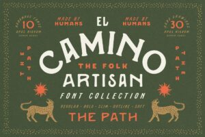 Read more about the article El Camino Font Collection + Extras (Premium)