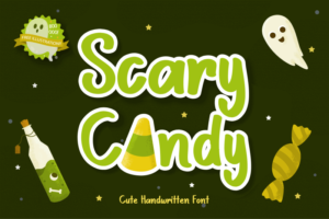 Read more about the article Scary Candy Script Font