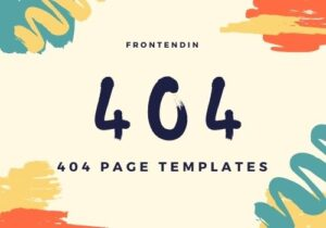 The Best Amazing 30+ 404 Page Templates Example -Frontendin