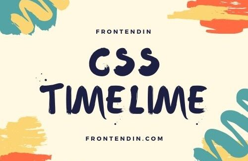 50 CSS Timeline