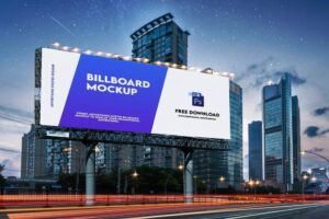 Billboard Mockup Free Download