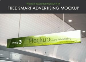 Free Smart Advertising MockUp