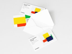 Read more about the article Opened Envelope and Business Cards Mockup