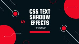 Read more about the article CSS Text Shadow Example