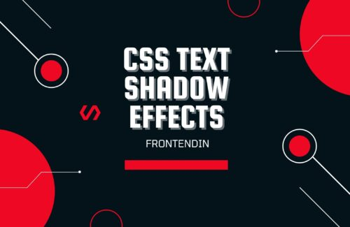 CSS Text Shadow Example